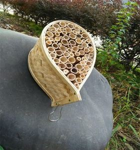 Topselling hanging bamboo bee house/insect house/insect hotel for outdoor garden