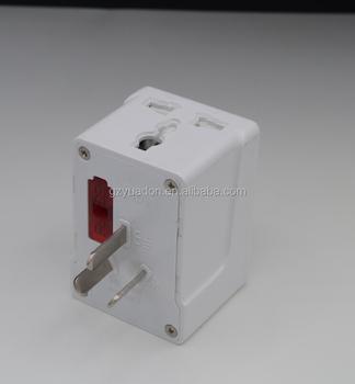 3-way Plug /socket South Africa To China Australia Plug Adaptor ...