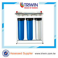 Triwin Big Blue Whole House Water Pre-Treatment System Water Filtration Unit