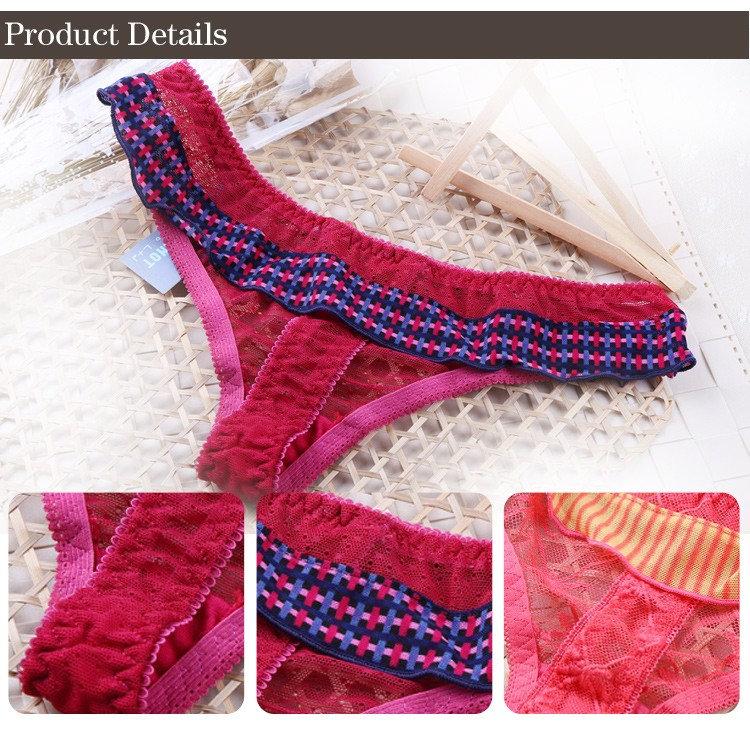 popular newest fashion fancy young girl tong panties