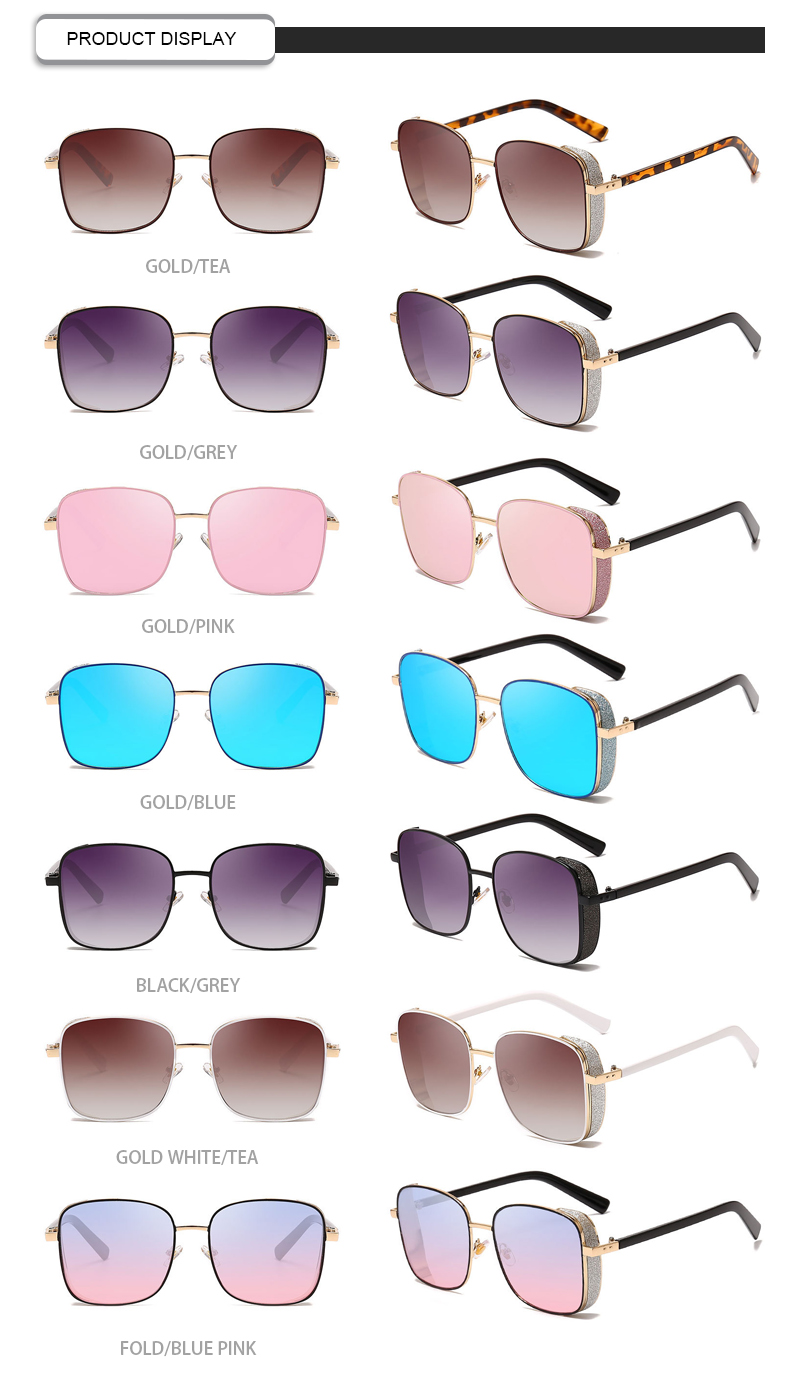Fuqian New oversized sunglasses womens manufacturers for racing-11