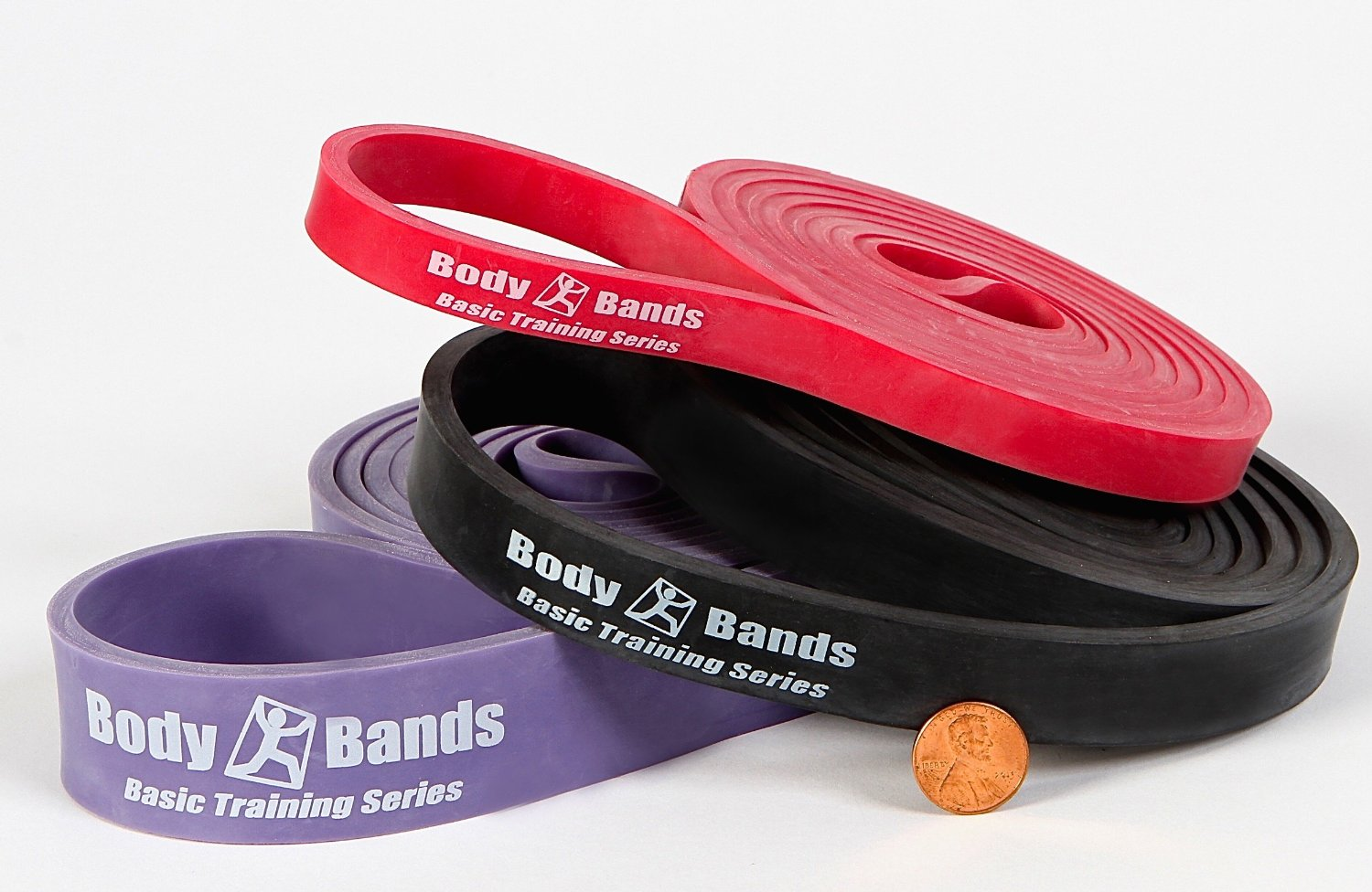 """Body-Bands 41"""" Loop Resistance Cross Training Band Set 