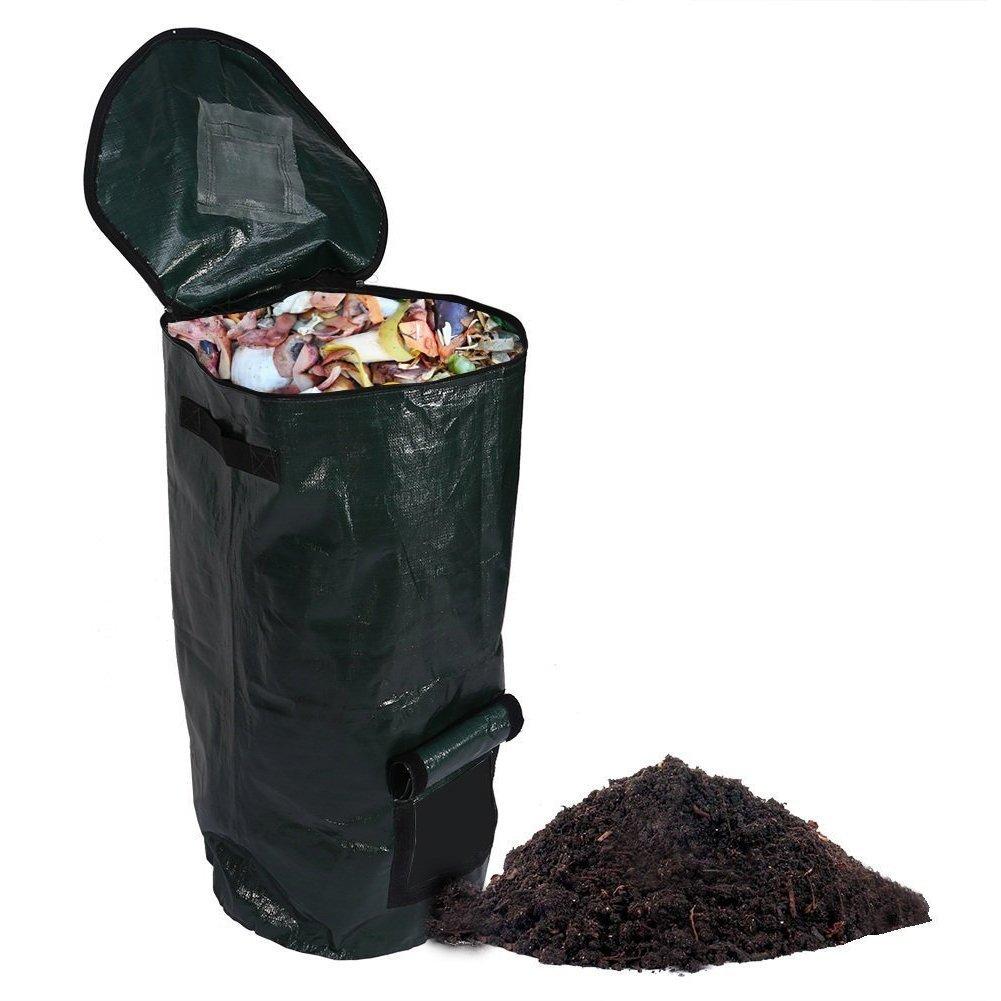 Get Quotations Compost Bag Homemade Organic Ferment Kitchen Waste Disposal Remains Bin