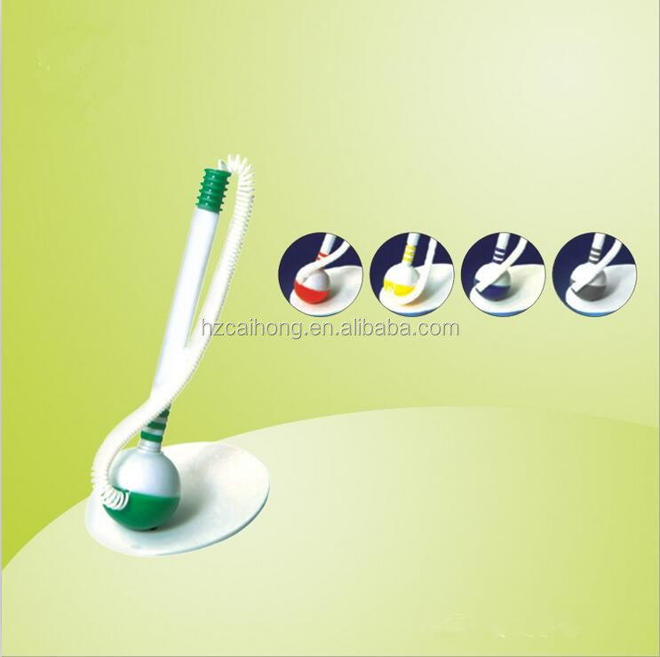 Cute Ball shape desk pen with chain ,promotional hotel pen , ballpoint pen with holder ,CH6714
