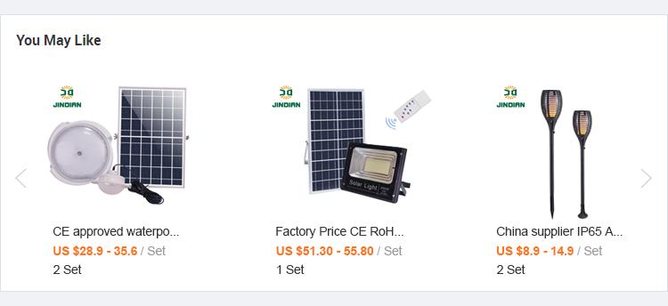 Haute qualité 40000 mah 200 watts a mené les lumières d'inondation solaires luces solares