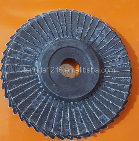 For European red black green 400 grit flap grinding wheels