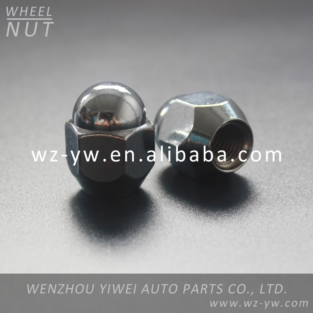 carbon steel hex domed cap nut