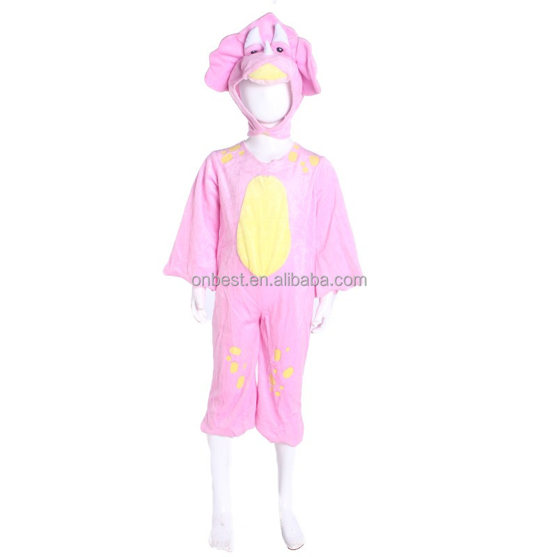 Halloween costume pour fille animal cosplay costume de mascotte de carnaval enfants rose-team.com
