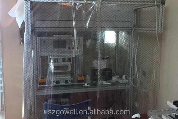 Mobile phone repair work room anti-dust air dust clean room for lcd oca lamination refurbished