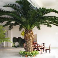 cheap wholesale garden decoration artificial metal palm trees