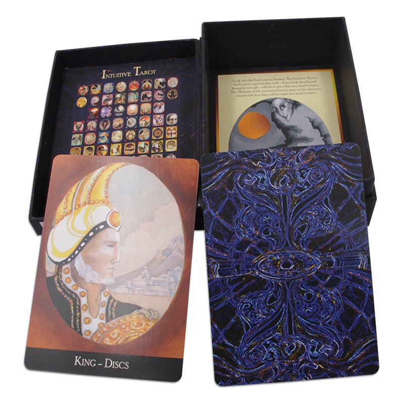 Custom Made Kartu Tarot Kertas Tarot Kartu China
