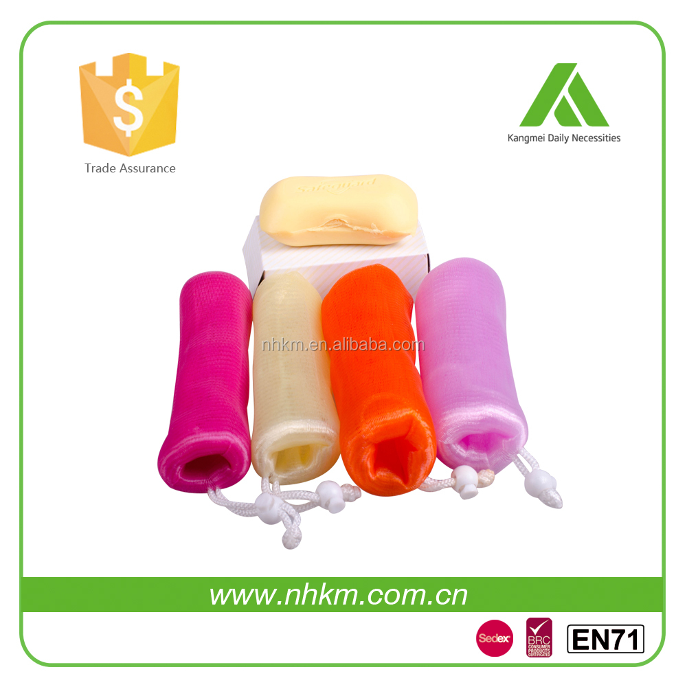 High quality full size soap saver mesh pouch with string