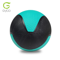 High quality bounce rubber medicine ball real leather medicine ball