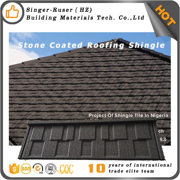 Sangobuild Stone coated metal roofing sheet price Soundproof heatproof roofing waterproof