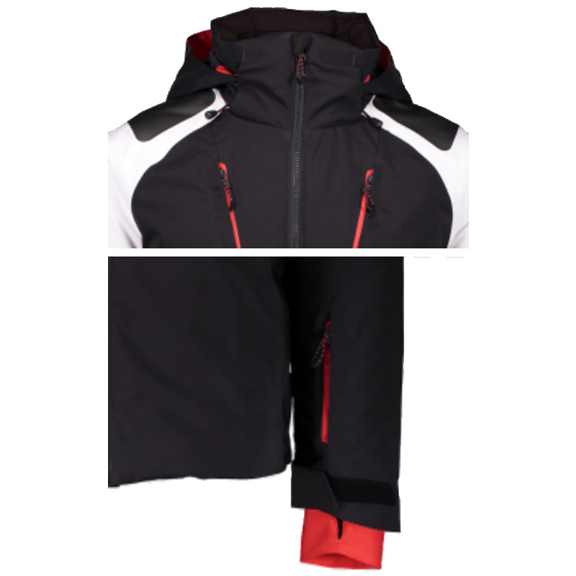 Men's Waterproof/breathable Hood Ski Jacket Waterproof Outdoor Snow Coat