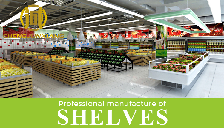 Manufacturers selling design advertising display supermarket shopping shelf for skin care products