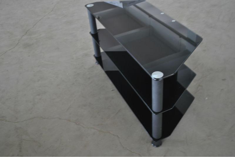 ecke billige tv rack klarglas lcd tv einheit tv m bel produkt id. Black Bedroom Furniture Sets. Home Design Ideas
