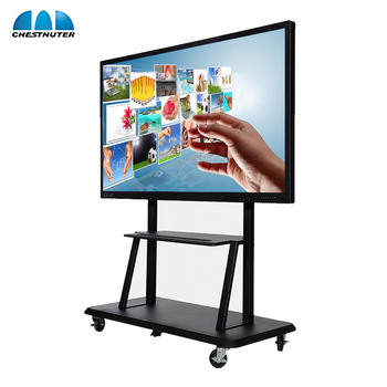 NIEUWE TECHNOLOGIE 50 55 65 Inch vervanging lcd led tv screen onderwijs boord all in one pc smart tv display touch digital signage