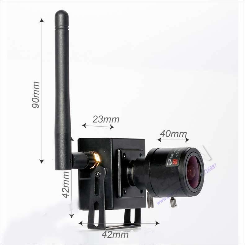 1080P 2.0MP Wireless Mini IP Camera ONVIF 2.0 2.8 12mm