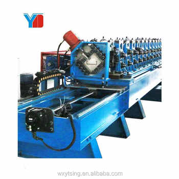 High Speed Full Automatic Galvanized Steel Building Material C Bracket C Channel Roll Forming Machine