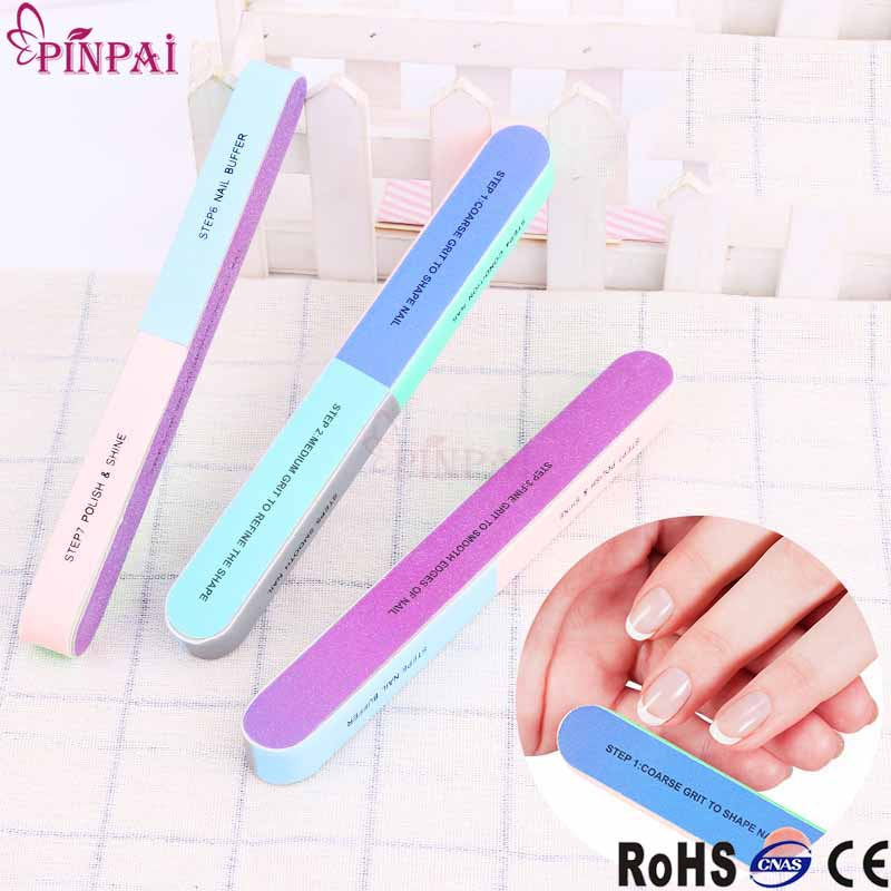 Pinpai brand professional seven-sides wholesale polishing sandpaper nail buffer фото