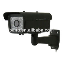 cctv number plate capture camera 550tvl ip66 0lux & 80 Pieces WHITE LED vehicle surveillance system