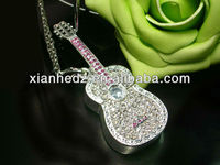 Noble design Jewelry diamond Crystal USB flash drive, U disk storage device for pc, palm pc and laptop pc