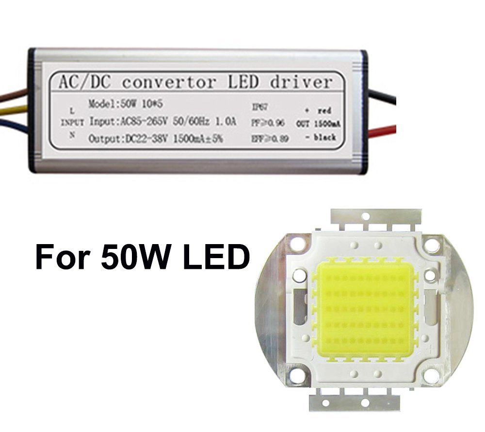 Cheap White Led Driver Circuit Diagram Find Charger With Dimmer Electronic Projects Get Quotations Waterproof 50w Power Supply Chip Bulb Light Energy Saving For Diy