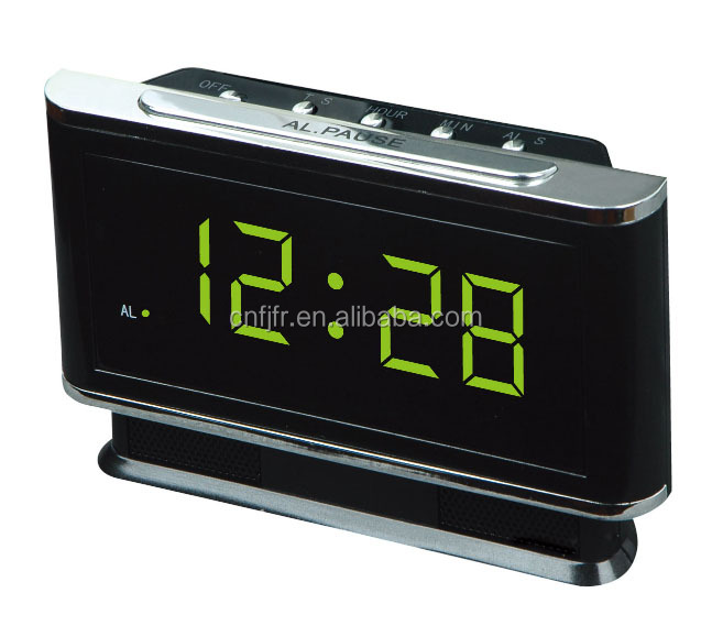 mechanical led table alarm clock