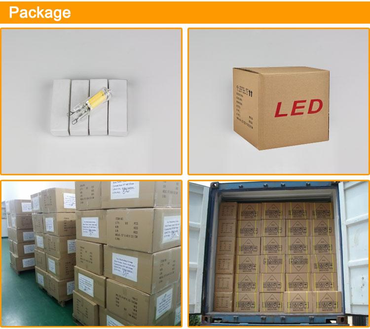 G9 P Morbido Bianco 2.5W 5W 200LM 400LM 230V Led G9 Lampadina con CE ROHS applicare per lampadari lampade Da Tavolo luci Decorative, LED-G9