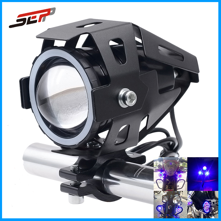 motorcycle accessories Waterproof led fog lamp moto For Yamaha For Honda