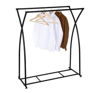 Dual-Rod Garment Wardrobe Rack, Retail Store Clothing Display