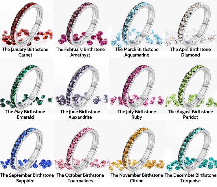 April Month Stone Ring Diamond Ring Meaning Purity And Honesty The
