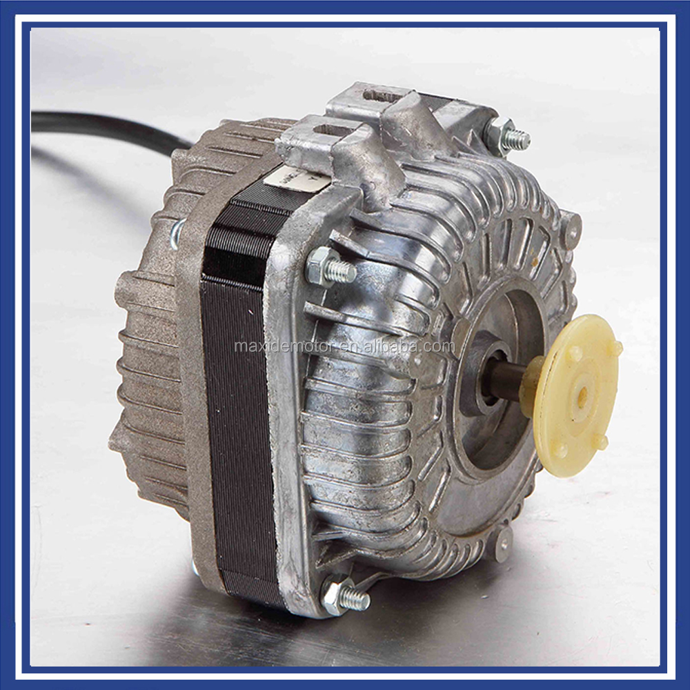 China hot sales ac electric shaded pole geared motor