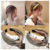 Women Headband 2019 New Design Hairband Colorful Elastic Head Wrap Twisted Knotted Hair Band For Girls