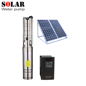 submersible solar water pump to irrigate paddy fields high quality solar  pump made in china solar deep water pumps