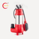 0.25kw 7.5m head mini submersible pump with float switch