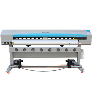New design Chinese inkjet XP600 printhead Eco solvent printer A4 size
