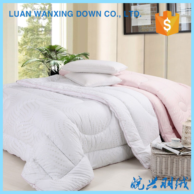 Promotional various durable using duck down quilt for five star