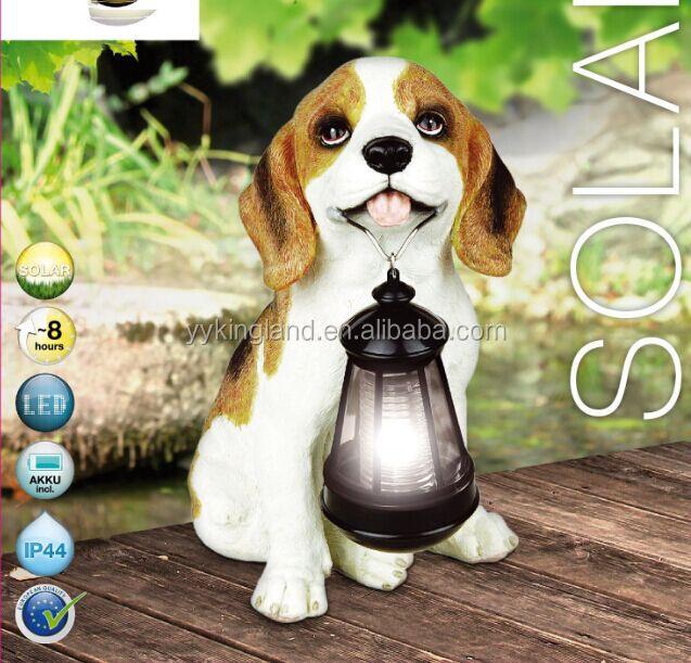 KINGLAND gros solaire lampe solaire lumière de chien décoratif ...
