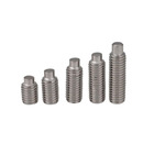 Fashion Stainless Steel DIN 915 Hexagon Socket Set Screws With Dog Point Free Sample Worldwide