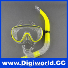 Silicone Diving Mask and Snorkel Swim Mask
