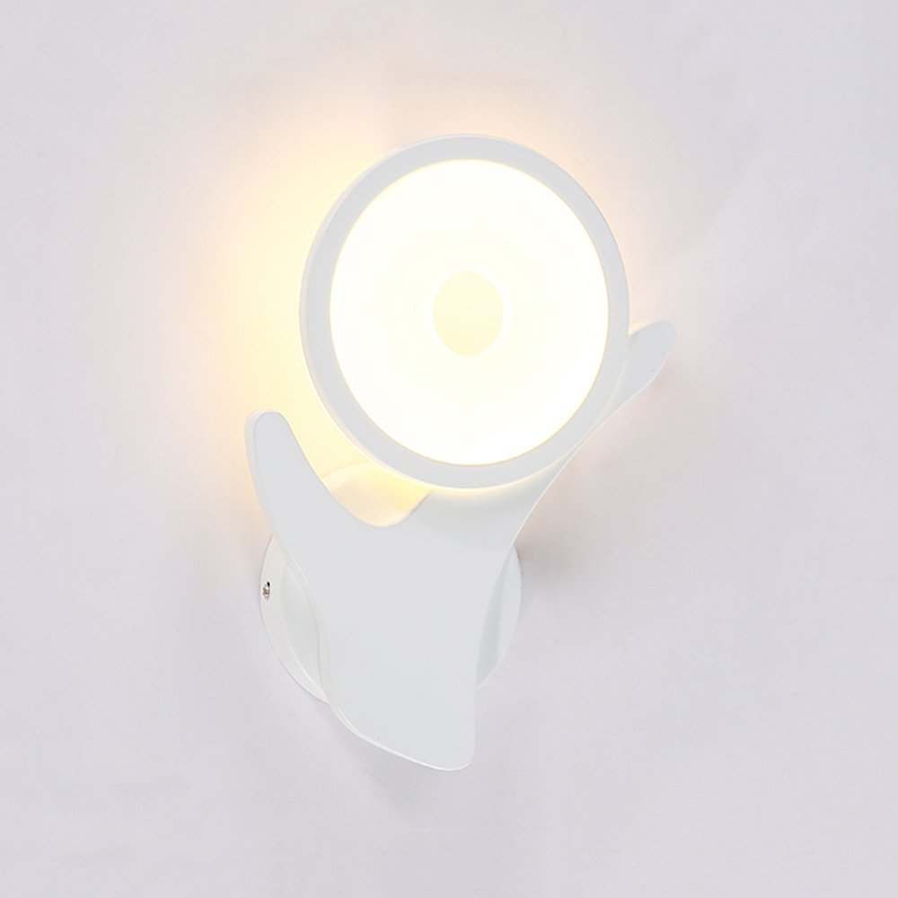 Post-modern Simple Personality LED Wall Lamp Living Room Bedroom Study Bedside Art Warm Romantic Decorative Lighting