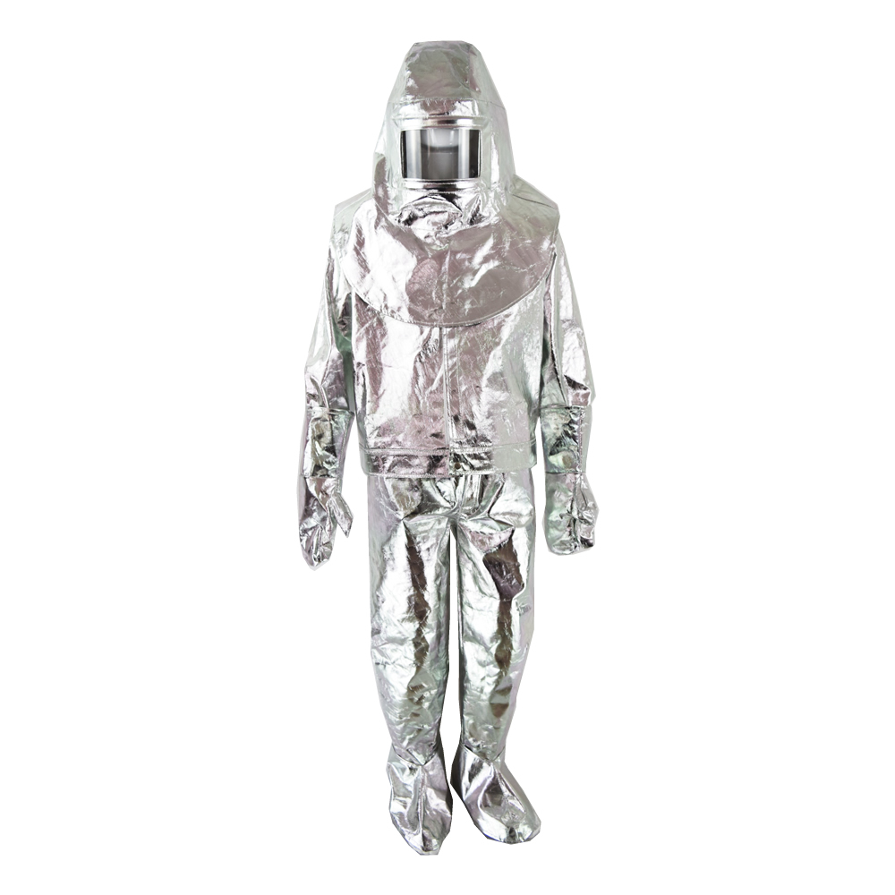8a2f7b300400 Low price wholesale factory direct sale Fire proof suit aluminized fire  suit for Firefighter