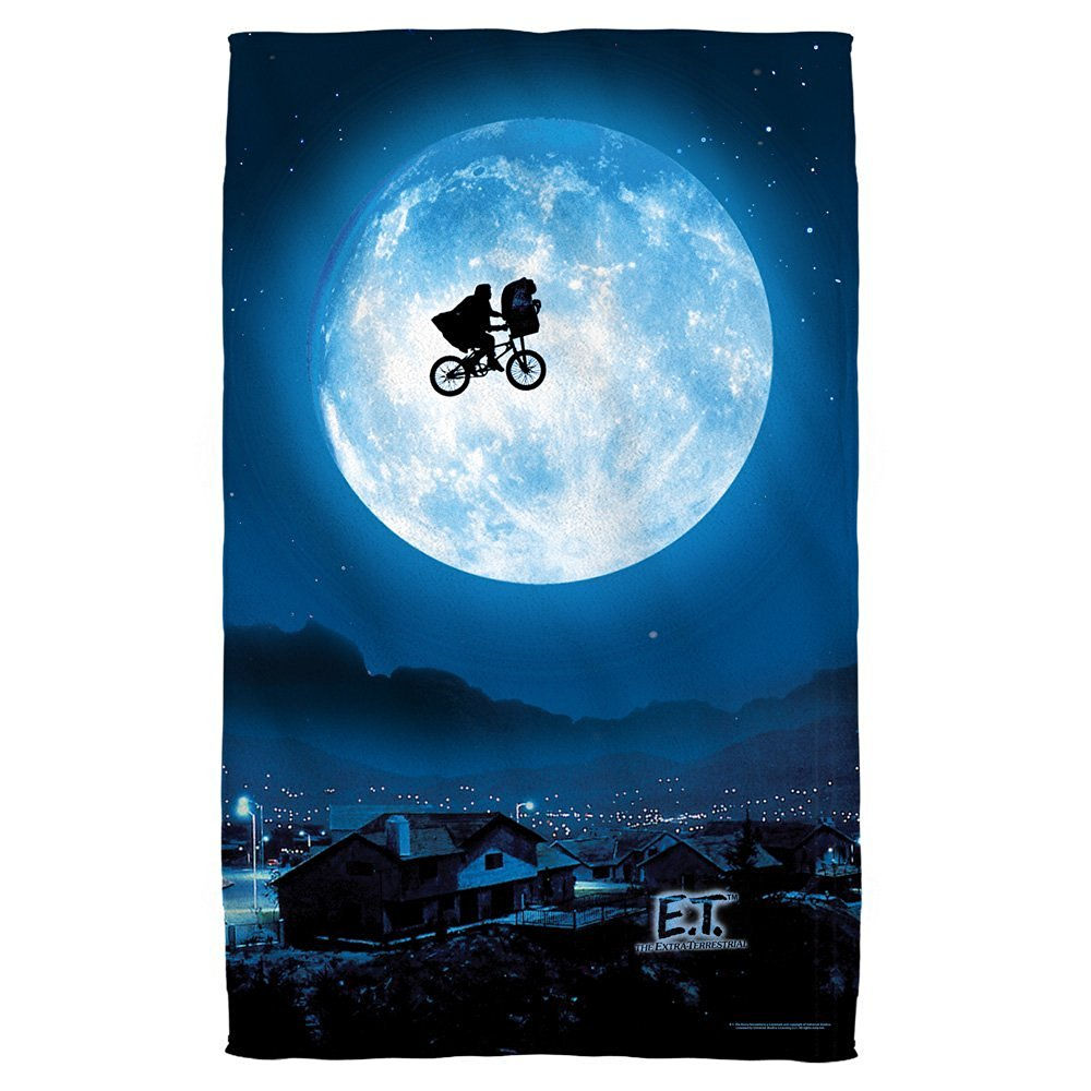 Moon -- E.T. - The Extra Terrestrial -- Beach Towel