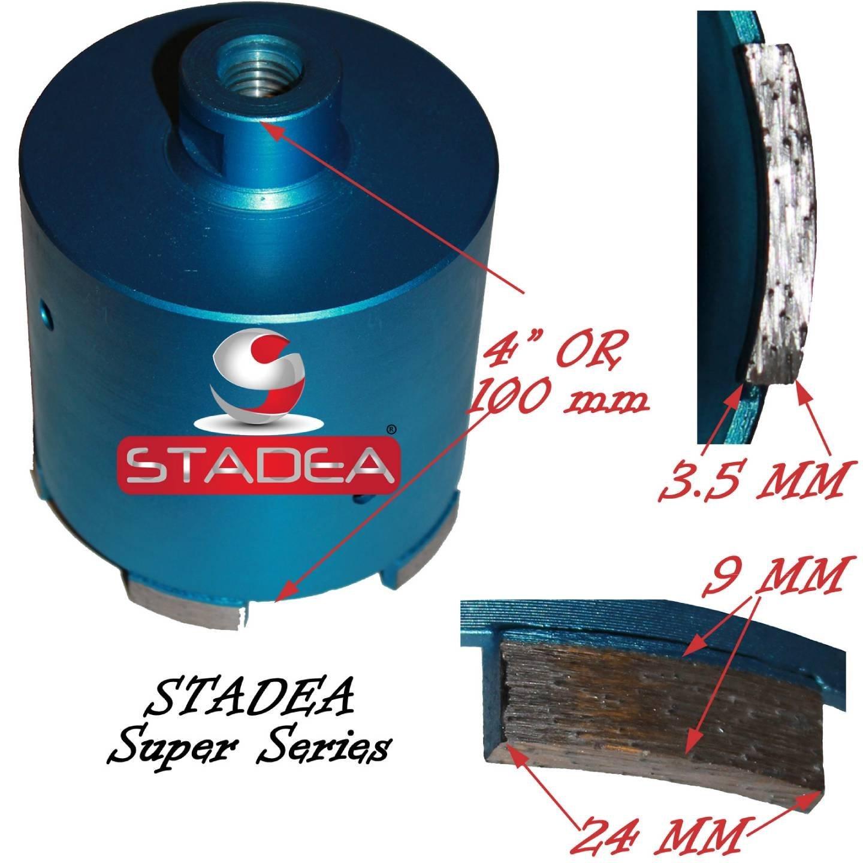Get Quotations  C2 B7 Stadea Masonry Hole Saw Kit Set Diamond Tipped Core Bits For Masonry Concrete Stone Coring