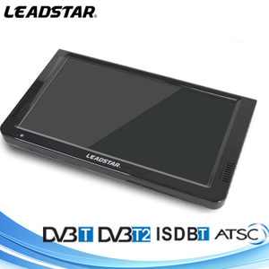 China 12 years gold supplier 10inch 1080P mpeg video portable dvbt2 isdb atsc television for cars