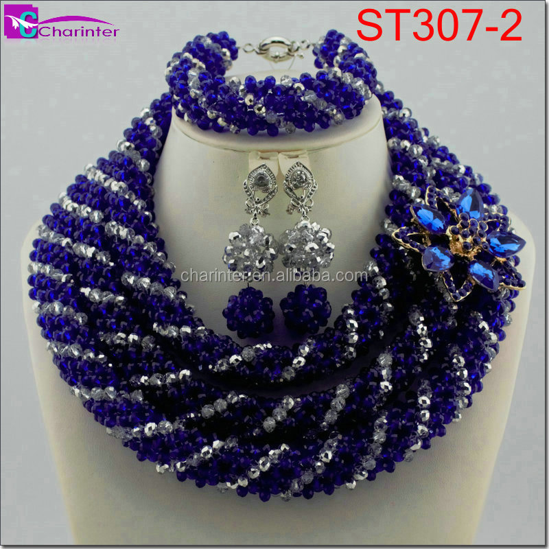 African Bead Style Indian Wedding Jewelry Set Bridal African ...