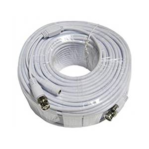 Q-see QSVRG100 Coaxial Video Cable * 100FT Q-SEE Shielded Video Power Cable with BNC MF Connectors * Coaxial - 100 ft - 1 x BNC Male Video - 1 x BNC Male Video, 1 x 2.1mm Female Power