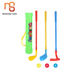 New design kids learning games sport toy plastic golf club with ball